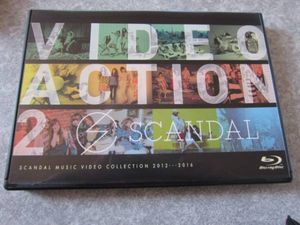 ★SCANDAL VIDEO ACTION 2★ Blu-ray ★スキャンダル★