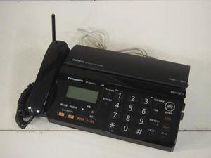 Panasonic パナソニック KX-PW308 親機 ブラック