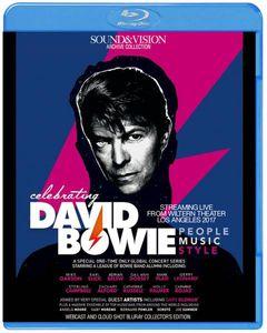 注目新作ブルーレイ!CELEBRATING DAVID BOWIE LIVE 2017 豪華ゲストによるデヴィッド・
