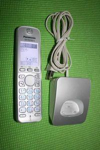 Panasonic 1.9-D 電話子機1 KX-FKD502-S & 子機用充電器 PNLC1026