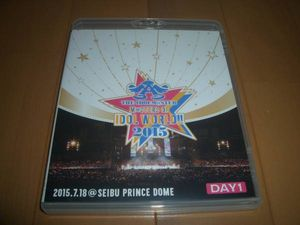 ▼Blu-ray処分!【 THE IDOLM@STER M@STERS OF IDOL WORLD!! 2015 Day1 2015.7.18 】2枚