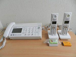 ★パナソニック★FAX電話機KX-PW320子機2台付★