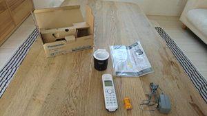 Panasonic コードレス電話 KX-FKD402-Z