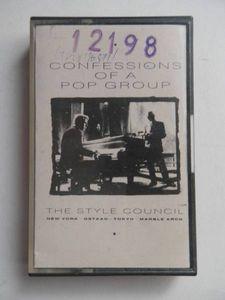 中古カセット THE STYLE COUNCIL/CONFESSION OF A POP GROUP スタイルカウンシル 輸入版