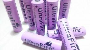 ※UltraFire※18650※リチウム電池※10800mAh※10本※送料激安※1円売り切りスタート※