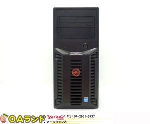 【DELL】PowerEdge T110II/Celeron-G1620/メモリ4GB/HDD500GB/OS無し