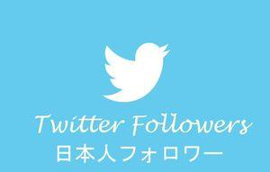 売れ筋No1●ツイッター日本人フォロワー10000人増加●Twitter