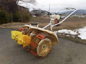 ☆ 共立 水田除草機 PC352 3条 未整備ジャンク