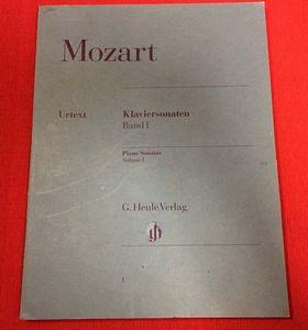 ●輸入楽譜 ヘンレ モーツァルト:ピアノソナタ集 第1巻 1992年