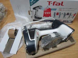 ◆T-fal 衣類スチーマー アクセススチーム コード付き DR8085J0◆ジャンク