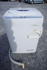 SHARP 全自動電気洗濯機 ES-FG45L-H 2011年製 関東圏内格安配送可 家電