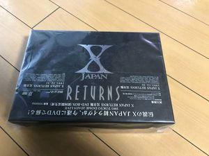 XJAPAN returns完全版 限定版DVDBox