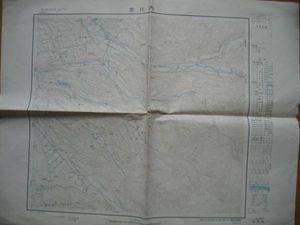 地図 志比内 北海道 1/50000 昭和36年 送料無料