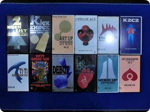 ★邦楽 VHS ビデオ まとめ 約32本 ロック ポップス 米米クラブ 中島みゆき 他 セット Z02