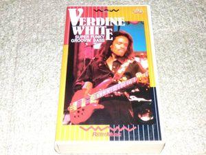 VHS◆ヴァーダイン・ホワイト/スーパー・ファンキー・グルーヴィン・ベース
