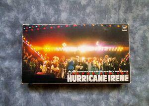 VHS● ジャパン・エイド 1st ~ HURRICANE IRENE ● JAPAN AID 1ST ♪ ピーター・ガブリ