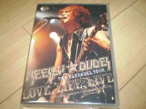○2DVD!HEESEY WITH DUDES/THE FAREWELL TOUR LOVE,LIFE,LIVE