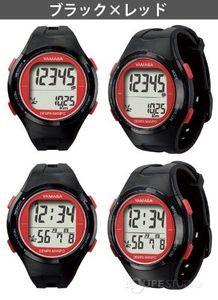 ウォッチ万歩計 腕時計 DEMPA MANPO[電波時計] TM-500 とけい万歩 YAMASA