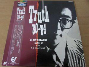 B5-063<帯付LD>佐野元春/Truth '80~'84