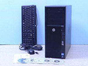 HP Z420水冷 E5-1660/3.3GHz/6コア 16GB 500GBx2 Quadro K4000 Win10/Win7
