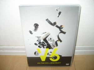★V6 ASIA TOUR 2010 in JAPAN READY?★DVD★