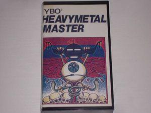 YBO / HEAVYMETAL MASTER ビデオ 北村昌士 YBO2