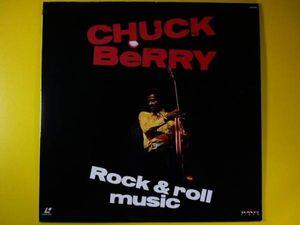 LD◆チャック・ベリー◆CHUCK BeRRY Rock & roll music/LIVE映像