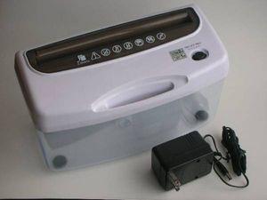 ●卓上ペーパーオートシュレッダー(AC100V,50/60Hz 12V )新品