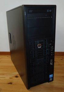 HP Z210 Workstation Xeon E3-1225/250GB/8GB/Quadro600/Win7(64bit)