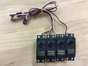美品 フタバ サーボ 双葉電子 サーボモータ S3003 4個セット 動作確認済 クリックポスト1