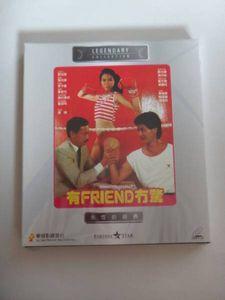 香港映画ビデオCD「有FRIEND無没驚」鄧光栄 馮淬帆  現品限り