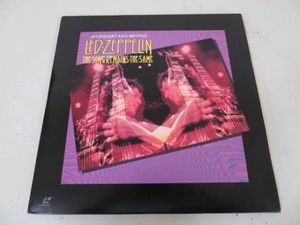 B00023856/【洋楽】LD2枚組/Led Zeppelin「The Song Remains The Same / In Concert And