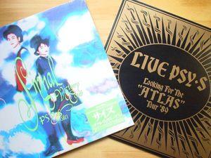 ●LD 新品同様 サイズ PSY・S ATLAS TOUR   SIGNAL VICTORY TOUR●3点落札ゆうパック送料