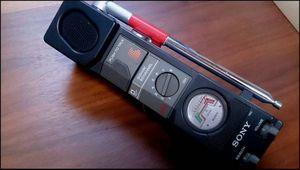 SONY CB無線機 ICB-87R 500mW 8ch ⑯