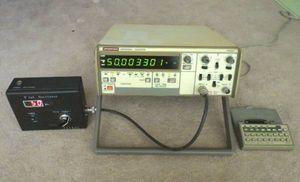 アドバンテスト周波数カウンター  TR5821