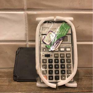 ▲同梱不可▲G3620 昭和 レトロ 未使用 カシオ CASIO 電卓 HQ-31 計算機 ケース・箱付き