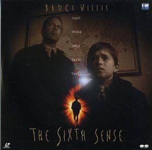 B00023616/LD2枚組/ブルース・ウィルス「シックス・センス(1999)」