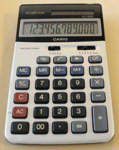 CASIO AZ-20SC 電卓の名機 カシオSTUDY CAL 動作確認済み 簿記専門学校限定品 学販用レ
