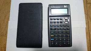 HP ヒューイットパッカード 関数電卓 HP35s 逆ポーランド式 美品