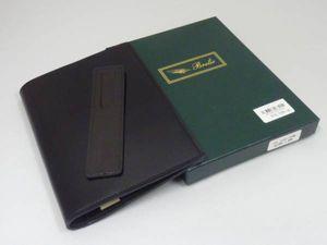 新品 Brelio (ブレイリオ) TCV コードバン 高級ブックカバー