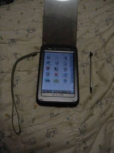 SONY  CLIE  PEG-TH55  動作品