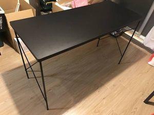 【美品】PC パソコン デスク Oak vile 黒 ブラック W1200xD500xH725 楽天人気商品