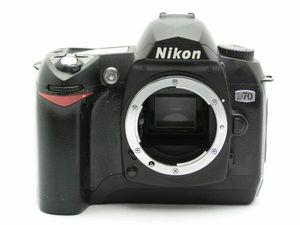 ★ハロ-カメラ★2223 Nikon D70 Body 部品取 ジャンク 修理要