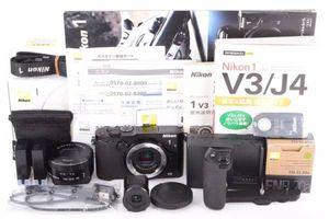 ★新品級★Nikon ニコン 1 V3 Premium Kit プレミアムキット★付属品完備★オマケ多数★