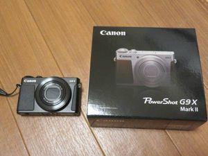 ジャンク品 Canon G9X MarkⅡ ブラック