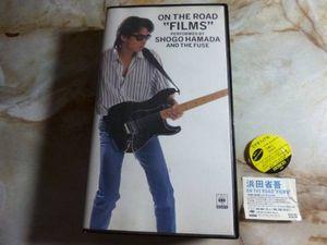 "VHS !!! 浜田省吾 ON THE ROAD ""FILMS"" ライブ映像  路地裏の少年、、、"