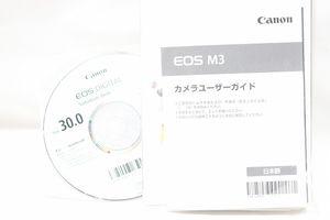 CANON キャノン EOS M3  説明書・CD