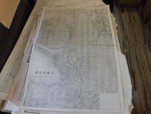 地図20か-95/〔古地図〕三島付近図 五万分一