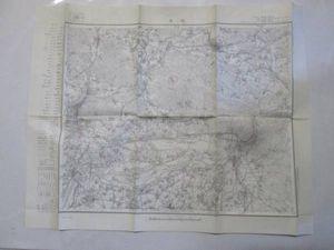 古地図 岐阜(岐阜,愛知) 5万分の1地形図◆昭和34年◆送料無料
