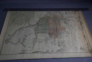 古地図 明治28年の古い大阪の地図